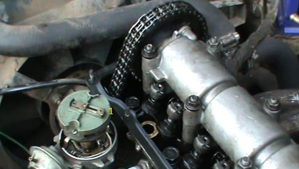 Выставление ГРМ и зажигания ВАЗ 2101 - 2106 (цепь)