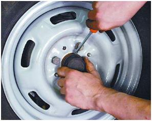 Замена передних ступичных подшипников (автомобиль ВАЗ 2108, 2109, 2110, 2114, 2115)