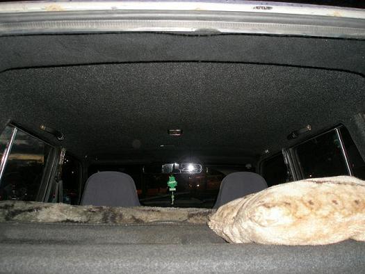 Потолок перетянутый ВАЗ 2101-2107