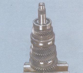 Вторичный вал КПП ВАЗ 2108-2109
