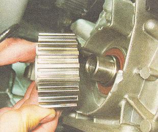 Зубчатый шкив коленвала ВАЗ 2110-2112