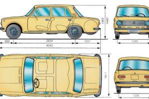 Технические характеристики ВАЗ 2101-21013